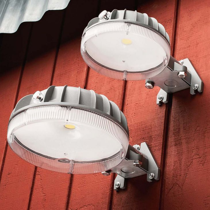 Automatic Dusk-to-Dawn Outdoor Security Lights