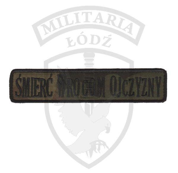 Naszywka Śmierć Wrogom Ojczyzny wz.93 Militaria Łódź.pl