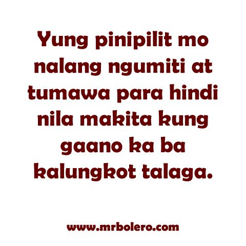 Tagalog Quotes About Love And Friendship Beauteous Best 25 Tagalog Love Quotes Ideas On Pinterest  Tagalog Qoutes