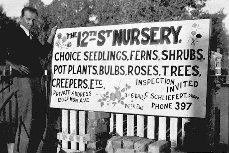 12th Street Nursery c1936