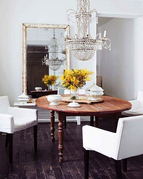 50 best home decor images on pinterest bedrooms bedroom for Dining table dressing ideas