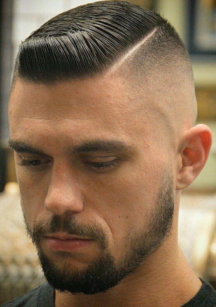 Dos cheveux peignés avec partie dramatique #AvedaIBW   – Haare
