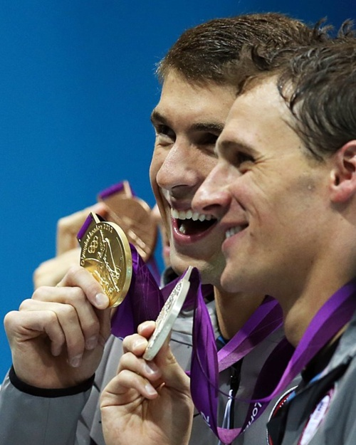 #Phelps wins 19!  Best athlete in olympic history?    #olympics #sports #swimming