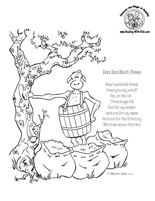 1000 Ideas About Baa Baa Black Sheep On Pinterest