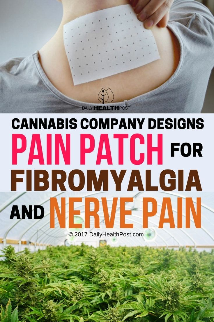 Patients may soon be able to find relief with this simple cannabis pain patch.