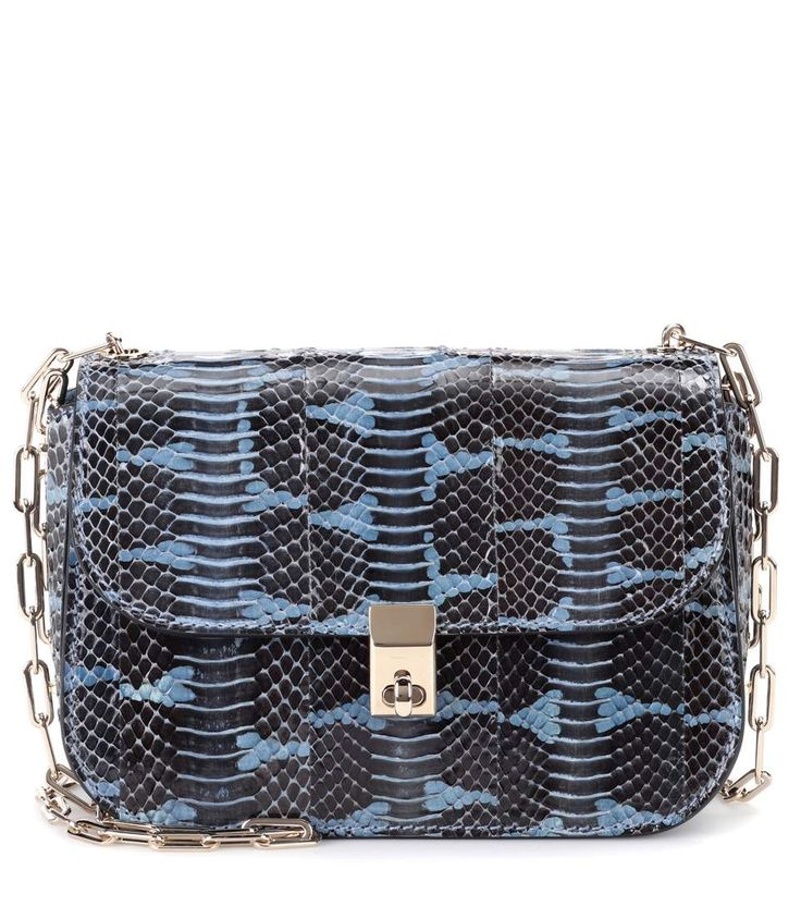 Valentino Valentino Garavani All Over Chain snakeskin shoulder bag