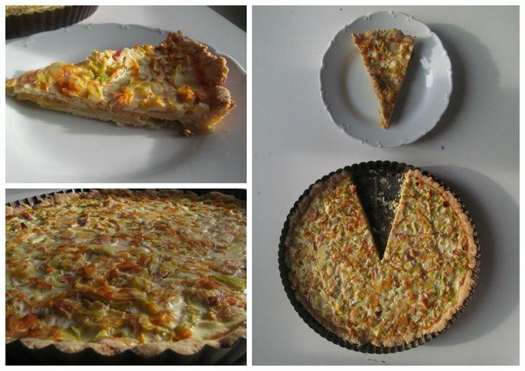 cuketovo-mrkvový koláč ,)) <3 <3 -)