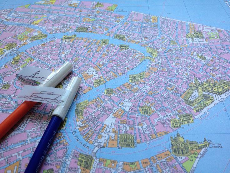 Spieltipp Autorallye: Was es dafür braucht: - Kopien von Stadtplänen - 2 Filzstifte mit unterschiedlichen Farben (eure Autos)...