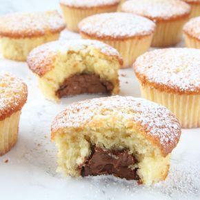 Superläckra, saftiga muffins fyllda med härlig choklad.