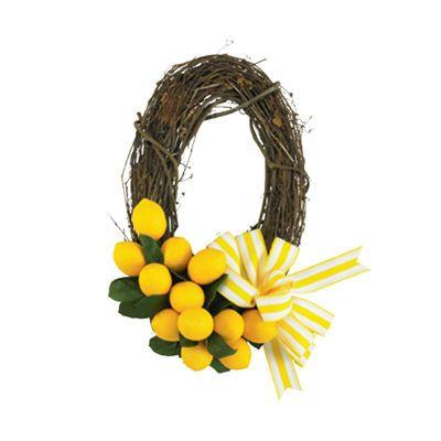 Michael's - Lemon Wreath