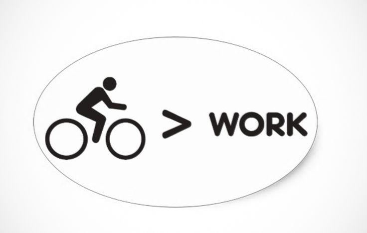 Biking > Work