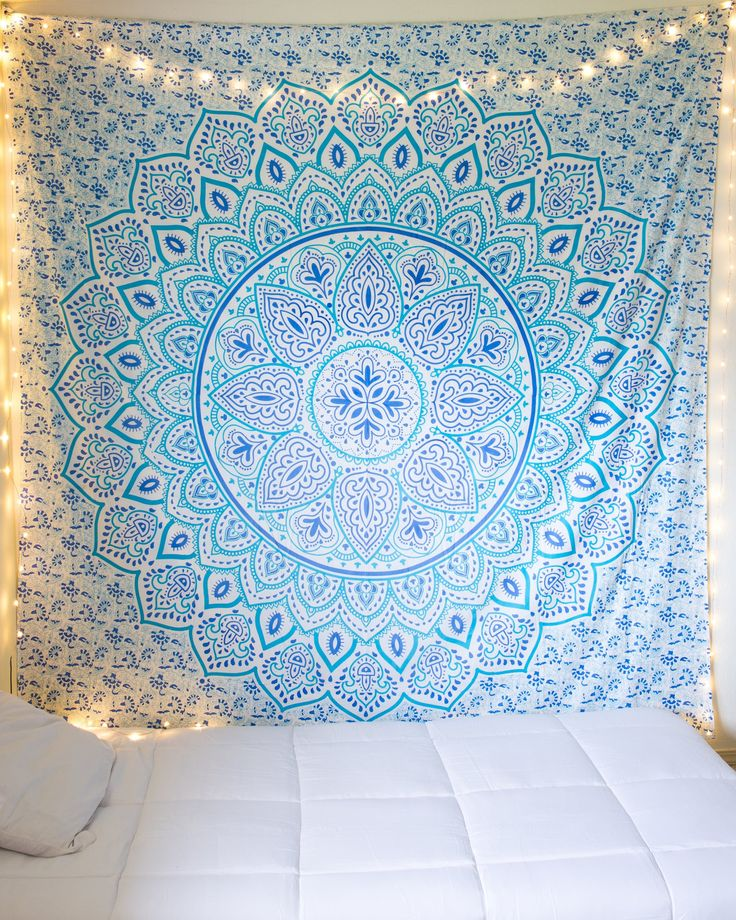 Spring Morning Mandala Tapestry from The Bohemian Shop