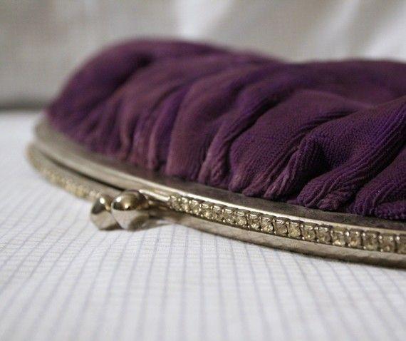 Vintage Purple Velvet! Love this, want one!