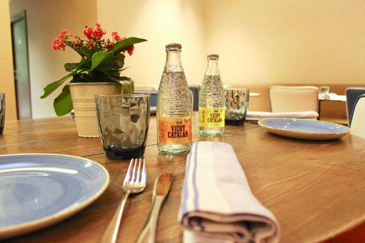 Viste tu mesa con las mejores bebidas: Vichy Catalan