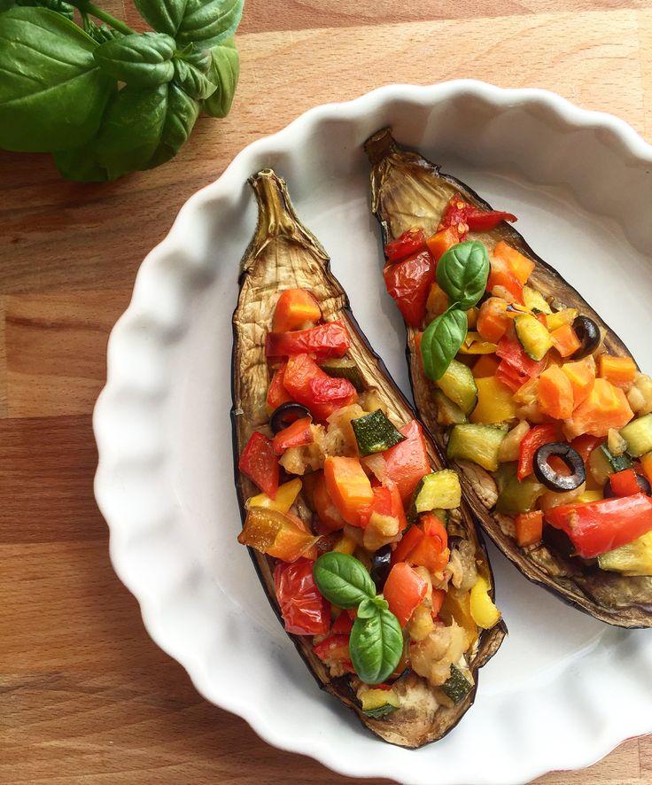 Melanzane ripiene di verdura