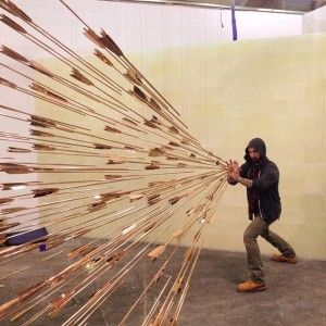Check out this cool art installation of 100 copper arrows flying at you, by Glenn Kaino. Kinds of tea you should be drinking: have ...