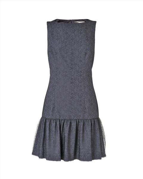 Amity Drop Waist Lace Dress,Steel Blue,original