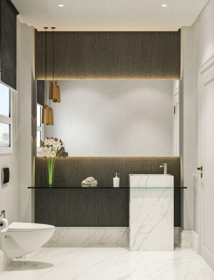 superficies-lujo-bano-moderno-ideas-estilo en 2020 ...