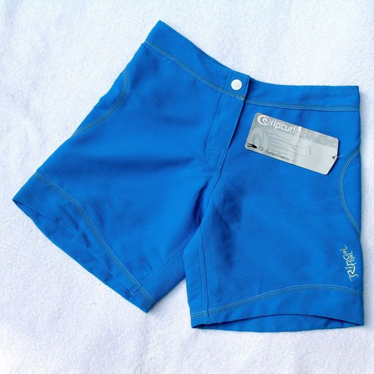 Ripcurl Girl Blue Surf Shorts 28in Waist UK 8 US 6 Vintage BNWT