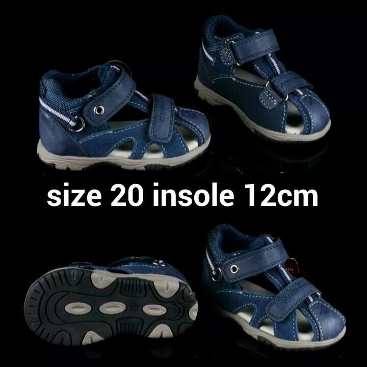 READY STOCK KIDS LEATHER SANDAL KODE : BRAVERY BLUE Size 20 PRICE : Rp.205.000 AVAILABLE SIZE : - Size 20 (insole 12cm)  MATERIAL : Genuine Leather (Kulit Asli), Sol Empuk. Sesuai untuk balita yang masih belajar/baru belajar jalan :)  FOR ORDER : SMS/Whatsapp 087777111986 PIN BB 766a6420 Facebook : Mayorishop  #pusatsepatubootsanak #sandalanak #sandalbalita #sandalkulitanak #sandalsantai #sandalgunung #sandalnyaman #casualshoes #kulitasli #genuineleather #sisaekspor #brandedshoes…
