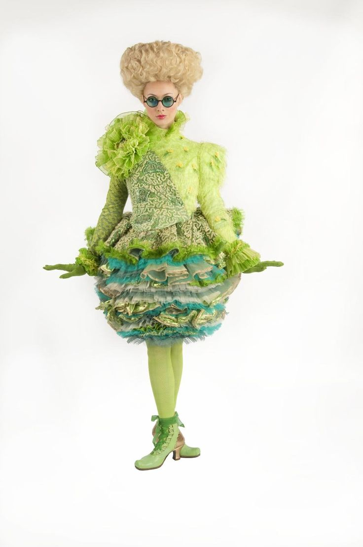 'Wicked' costume by Susan Hilferty.  I always found the skirt of this piece to be incredibly intriguing.