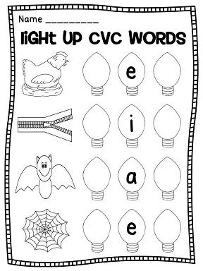 17 best images about cvc words on pinterest activities for kindergarten middle and literacy. Black Bedroom Furniture Sets. Home Design Ideas