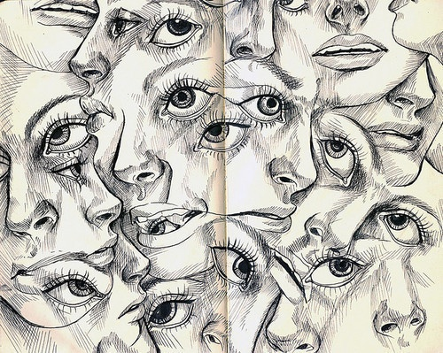 faces on faces