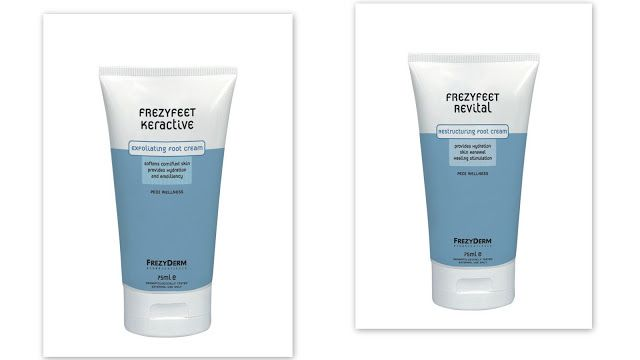 Keractive Cream & Revital Cream για τα πόδια σας μόνο!!!   Anastasia's Beauty Secrets