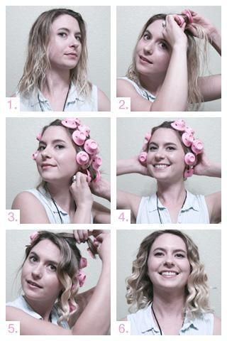 how to use curlers overnight