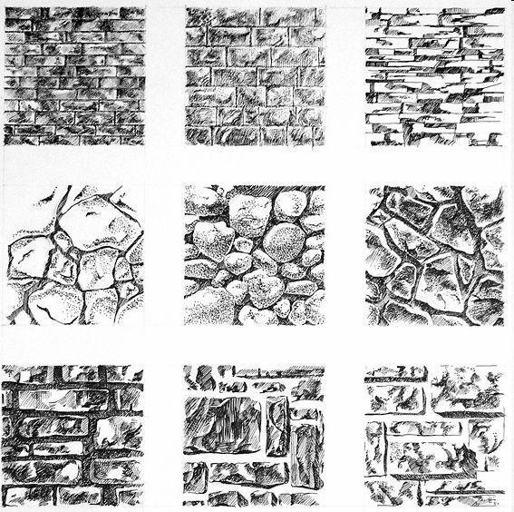 Основы изобразительной грамоты - Основные правила работы карандашом.