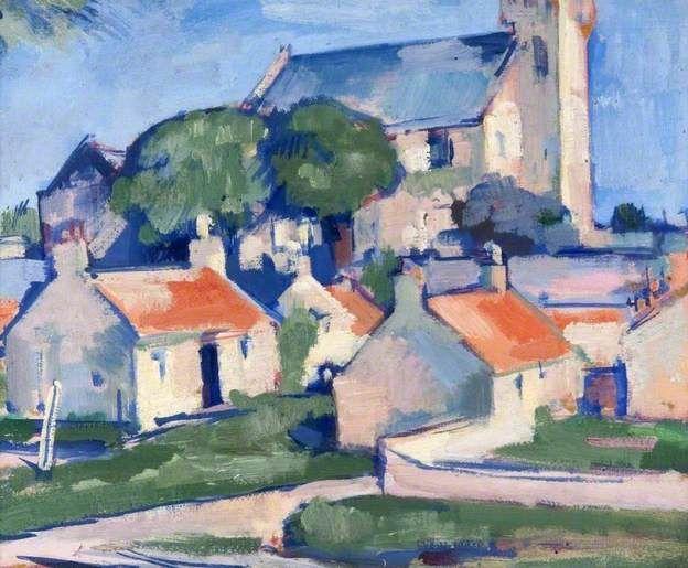 Ceres (c1920-1925)Samuel John Peploe,  Scottish Colourist (1871-1935)