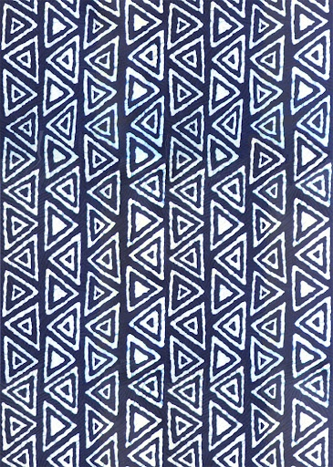 Vlisco, South Africa. West African design. Design oop after 2002 design estampe