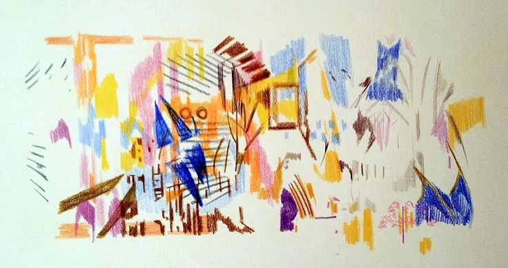 Nicosia.  #drawing #painting #exploration #contemporaryart #visualart #art #fineart #printmaking #printing #science #expression #colours #images #illustration #adamgrose #visualarts #artist #techniques #education #style #skills #figures #landscape #abstract #design #graphics
