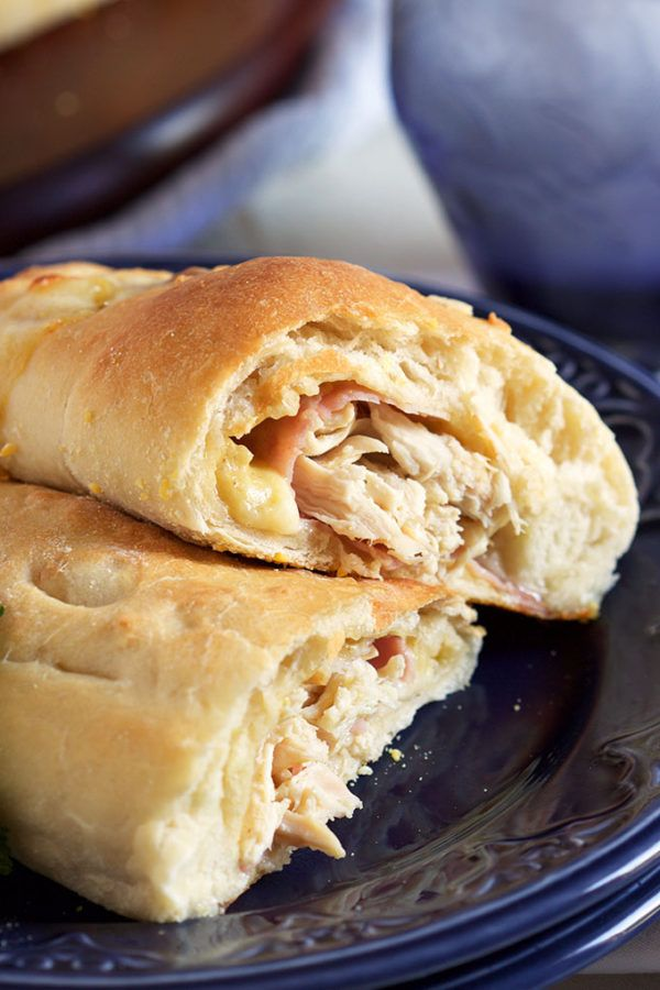 Easy Chicken Cordon Bleu Calzones recipe is perfect for quick, easy weeknight dinners.