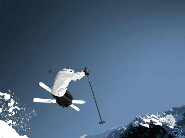 Skidåkning - bakgrundsbilder: http://wallpapic.se/idrott/skidakning/wallpaper-29564