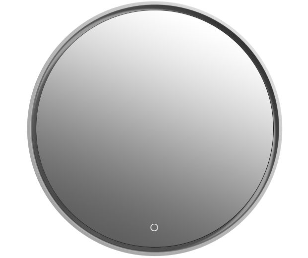 700mm Round Mirror with Touch Sensor Integrated LED Lighting
