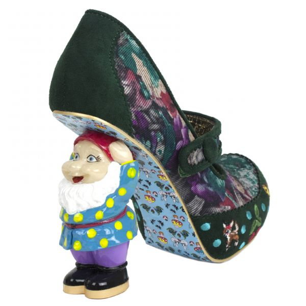 Irregular Choice Thundrella gnome heels - and just when I got rid of my strange shoes themed pinterest board! #SnowWhite