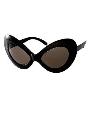 Enlarge ASOS Extreme Oversized Cat Eye Sunglasses