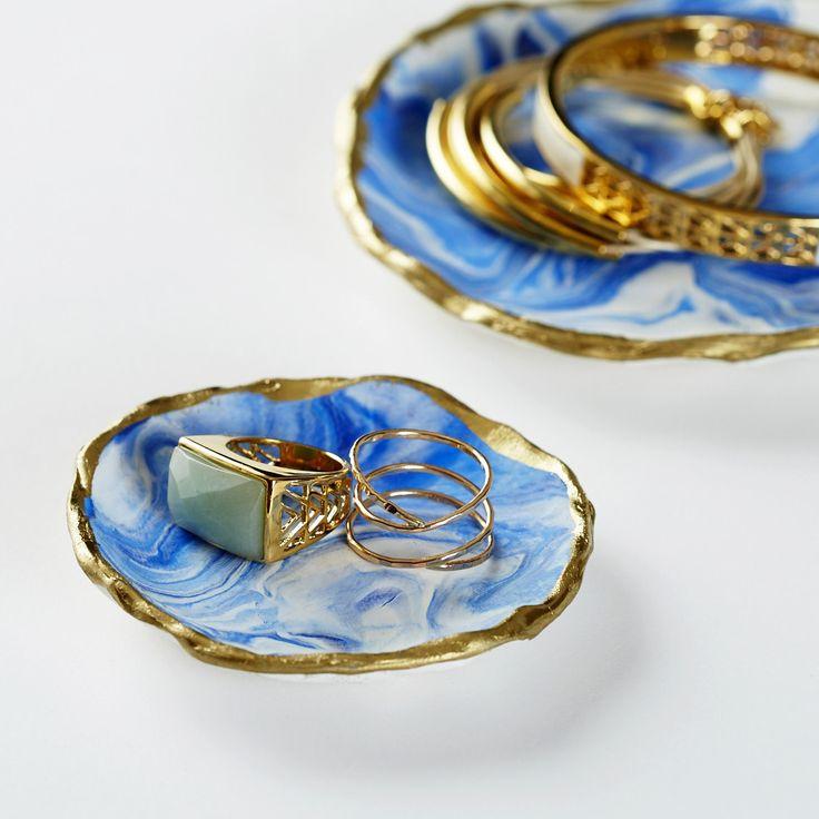 Marbled Jewelry Tray Kit