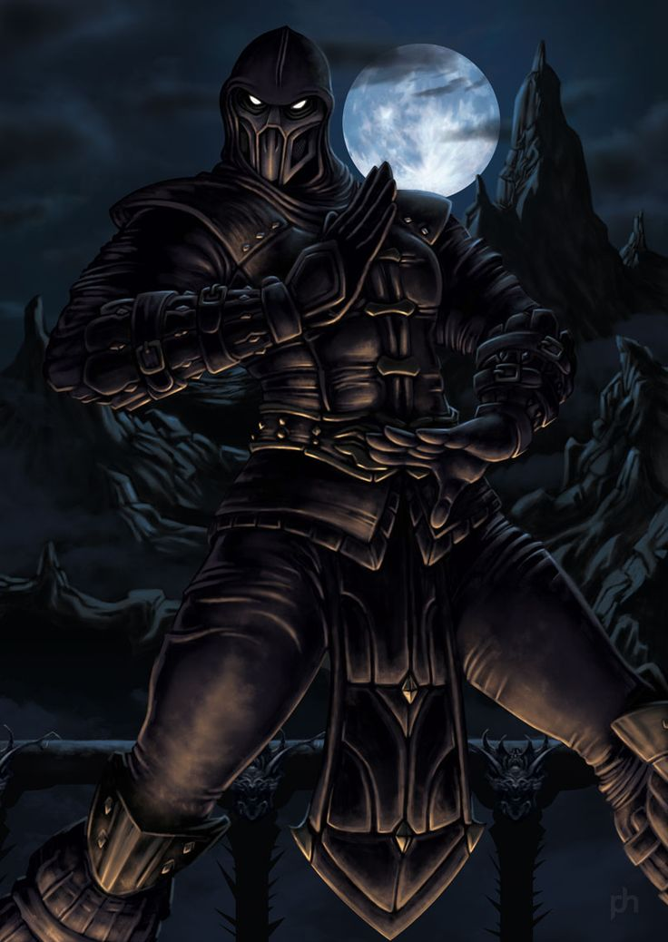Noob Saibot by *phrenan on deviantART