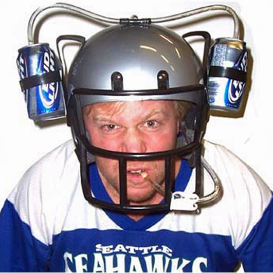 #UltimateTailgate #Fanatics   With this awesome Football Drinking Helmet,