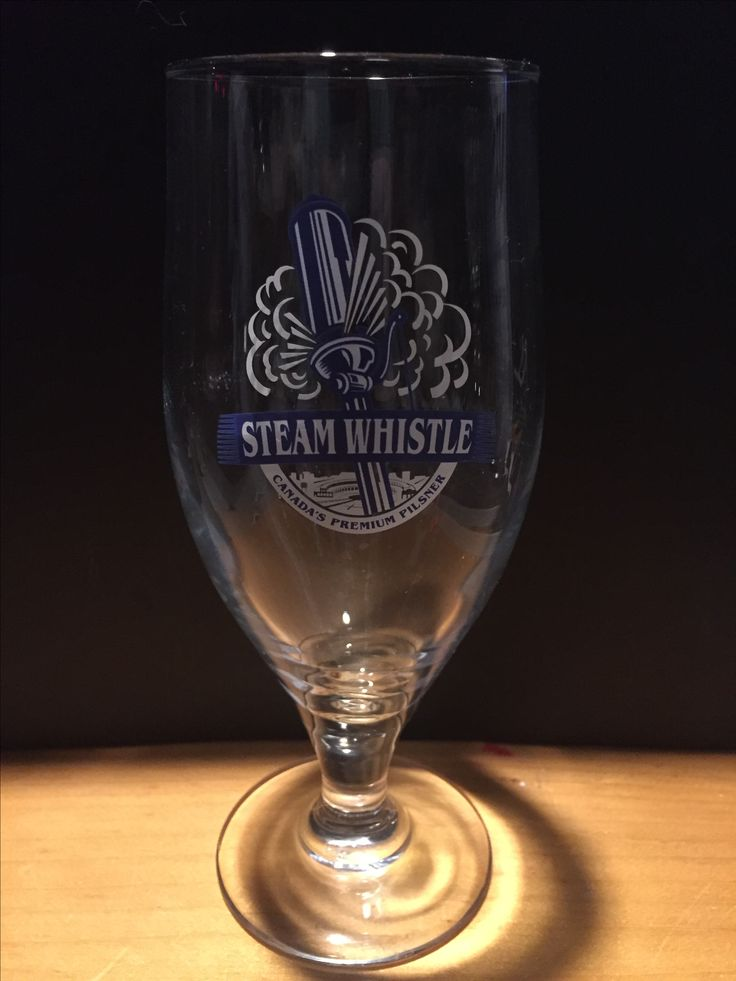 Steam Whistle  Small Draught Glass
