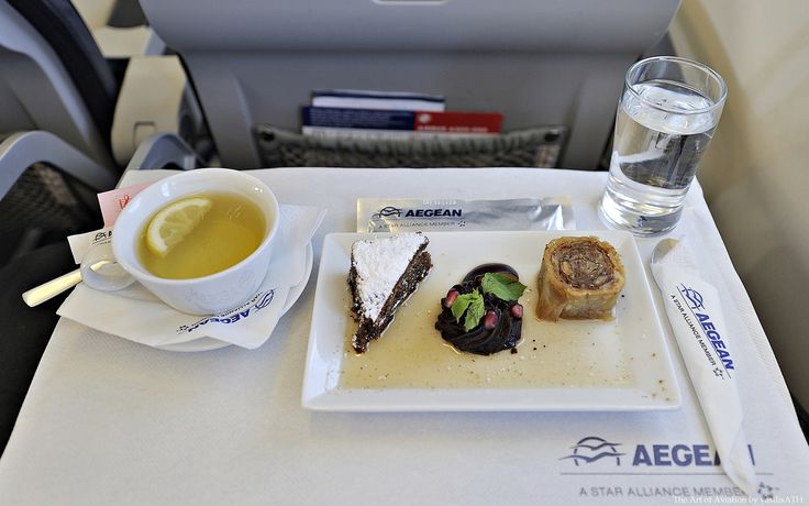 AEGEAN BUSINESS CLASS DESSERT Selected variety of sweets
