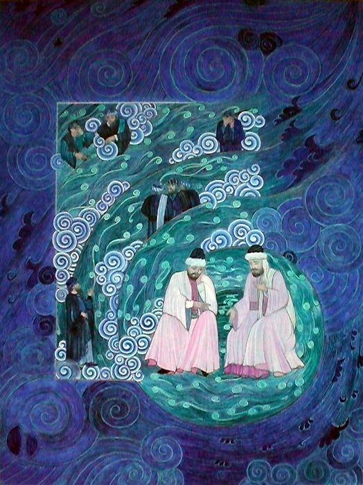 Mevlana ve Şems   Mevlana   Collections   Fine Islamic Arts   Şermin Ciddi