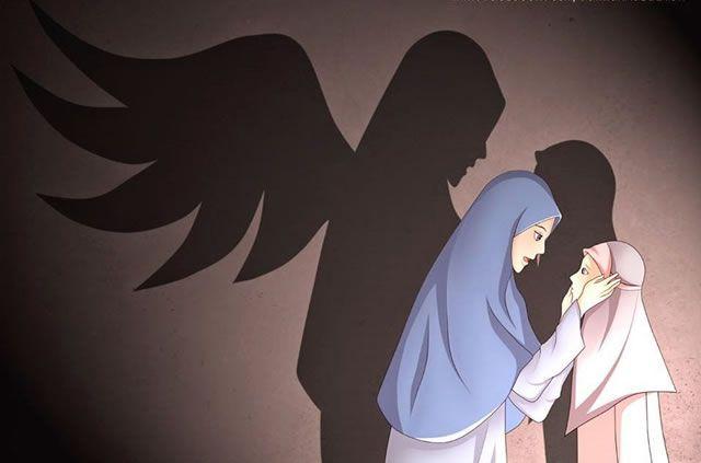 Hasil Gambar Untuk Kasih Sayang Seorang Ibu Kepada Anaknya Kartun Kartun Komik Anak Ilustrasi