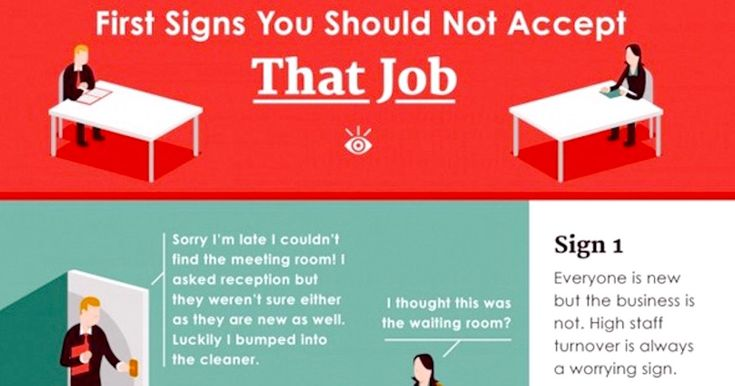 10 job interview red flags that should warn you to walk away. | Someecards Workplace