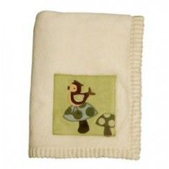 #LAMBS N IVY ENCHANTED FOREST BLANKET