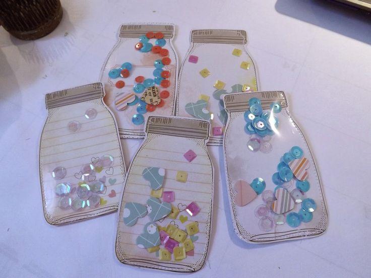 Tracy Creates: Handcrafted embellishments, shaker mason jars