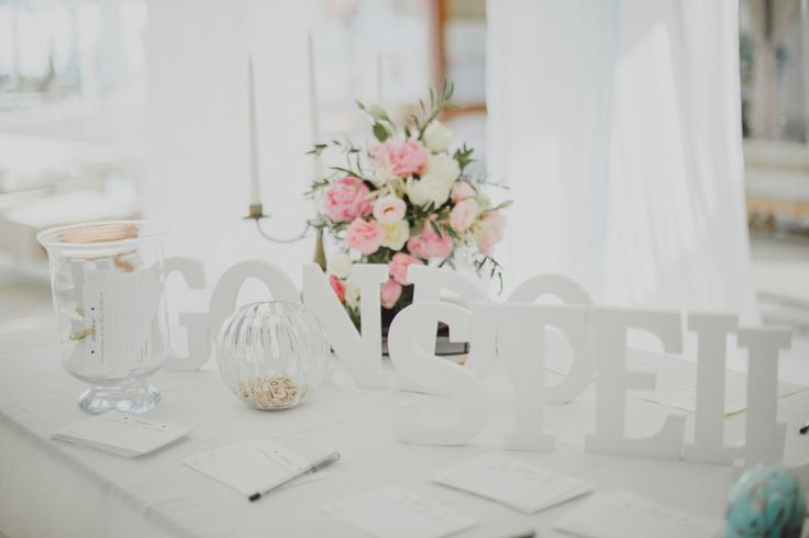 Registration table in Pastel Color