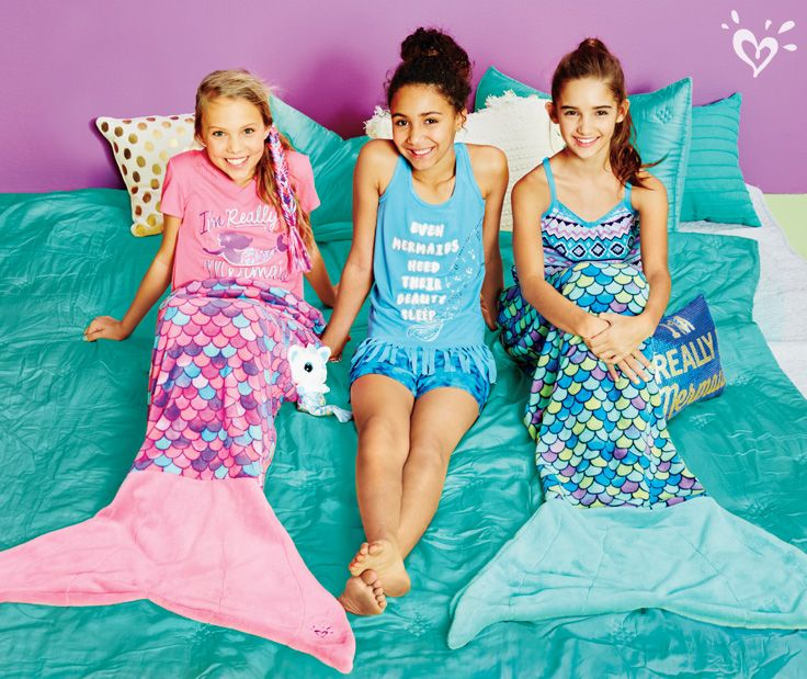 Our mermaid pj's help you fin-ter a dreamworld even before you drift off to sleep!
